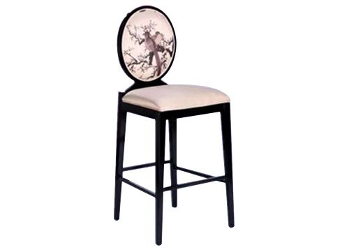 古典圆背吧椅