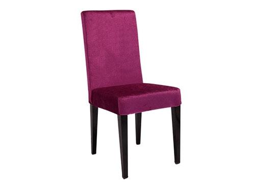 紫色包布酒店椅