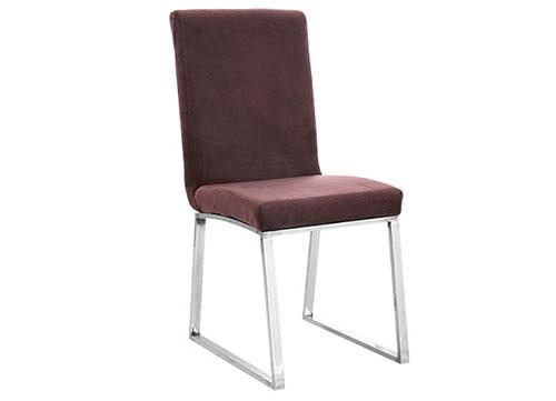 平管不锈钢包布酒店椅