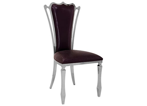 广西酒店不锈钢餐椅