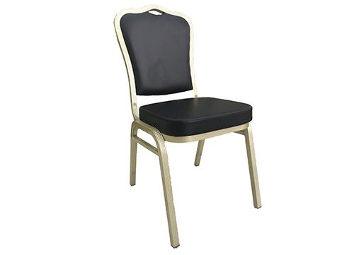 厂家批发高档酒店铝合金宴会椅
