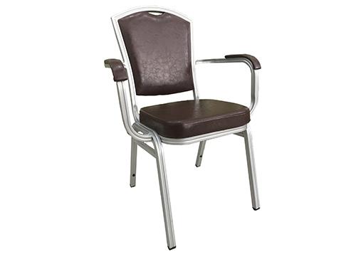 铝合金扶手酒店椅