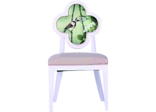 花鸟图案酒店椅