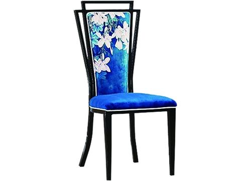 蓝色酒店椅