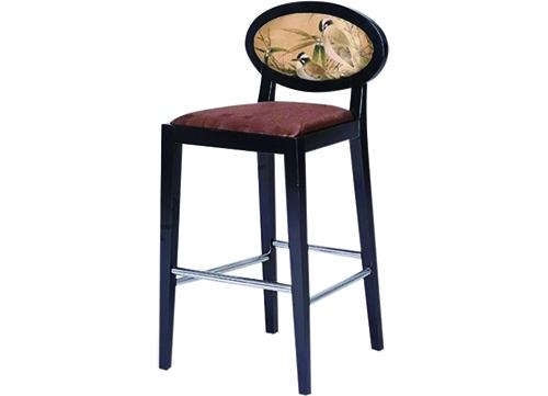 中式圆背吧椅