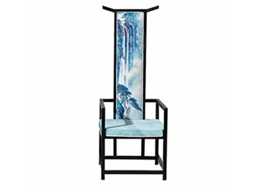 新中式高背官帽椅