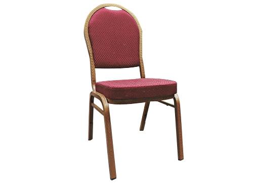 红色酒店宴会椅