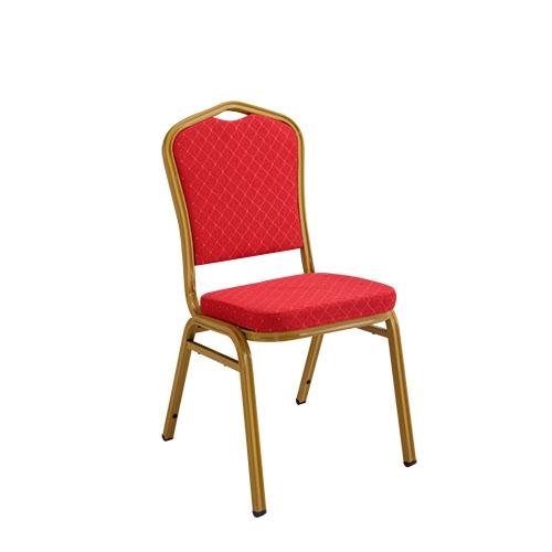 喜庆红色酒店椅