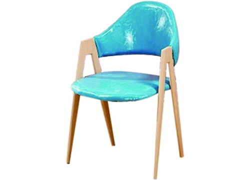 蓝色A字椅