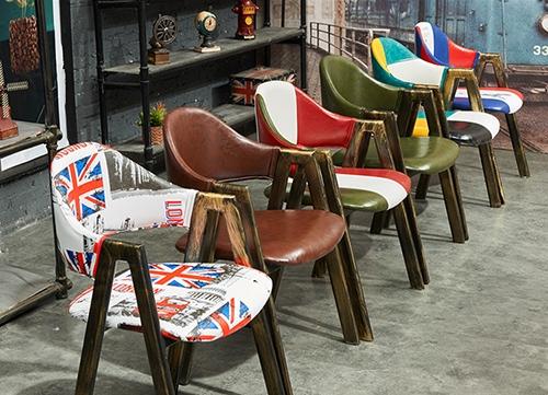 海南美式乡村椅