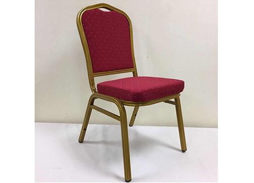 深红色酒店椅