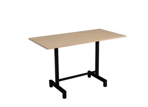 海南木纹折叠桌