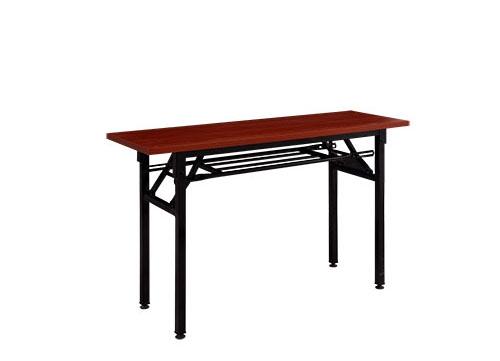 海南深木纹折叠桌