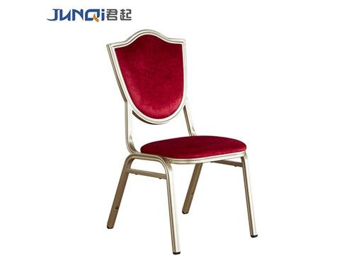 酒红色高档酒店椅