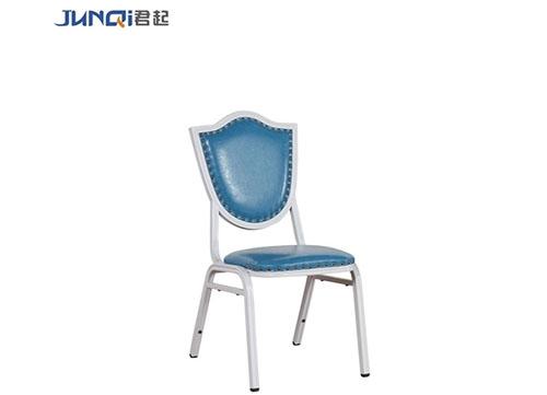 海蓝色高档酒店椅