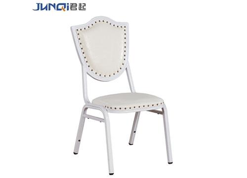 银色高档酒店椅